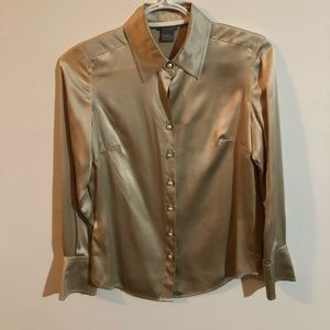 Ann Taylor blouse with Pearl Buttons